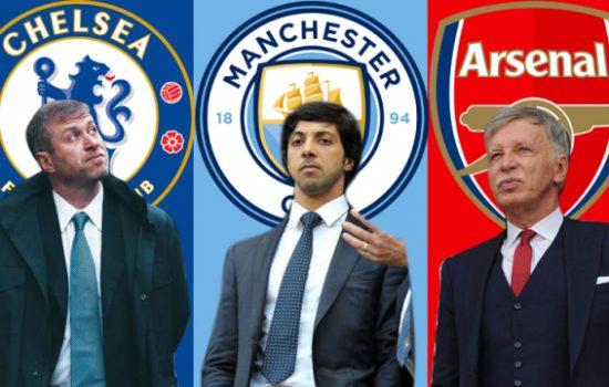 Klub Liga Inggris dimiliki 5 Konglomerat Asal Amerika