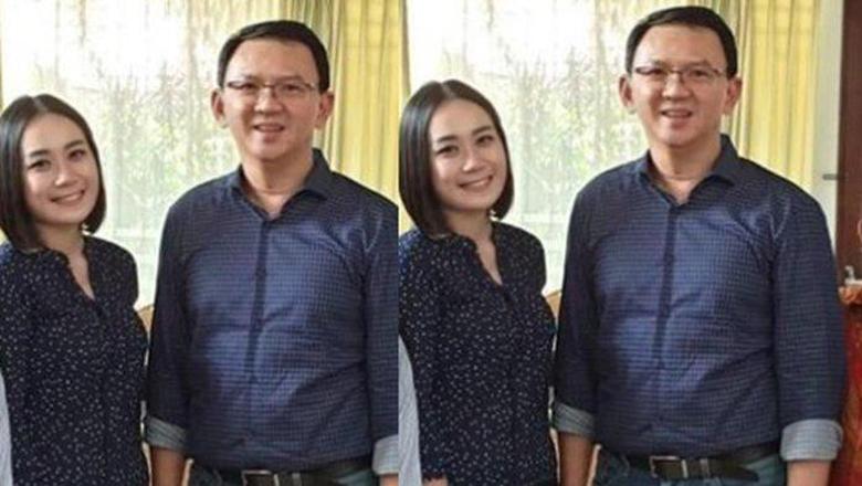 Foto kolase Ahok dan Puput (BONEPOS.COM - INT).