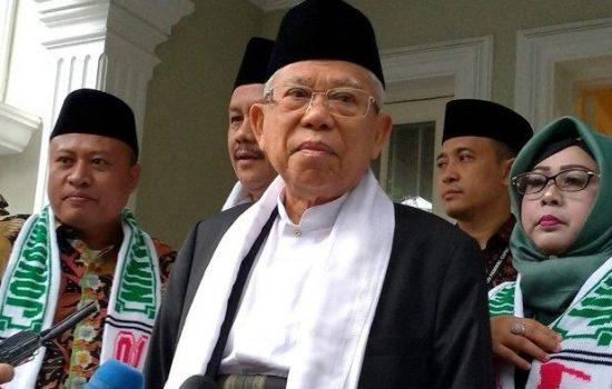 Ma'ruf Amin Sindir Munajat 212: Itukan Fatwa Saya, Kok Saya Tak di Undang?