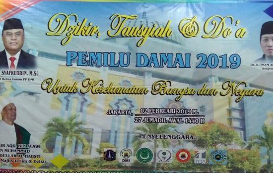 DMI DKI Jakarta Gelar Deklarasi Pemilu Damai