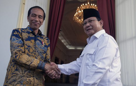 Tahun Baru Imlek, Jokowi dan Prabowo Kompak Beri Ucapan