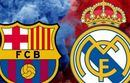 Liga Spanyol : Barcelona VS Real Madrid