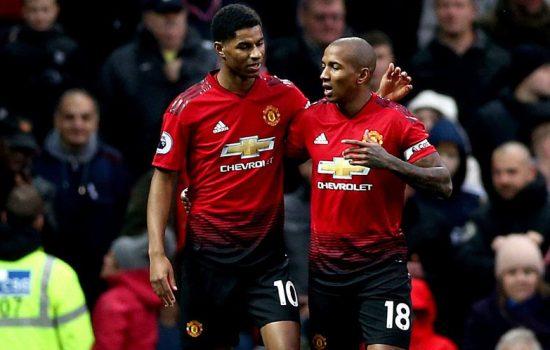 Ending Fulham vs Manchester United: Skor 0-3