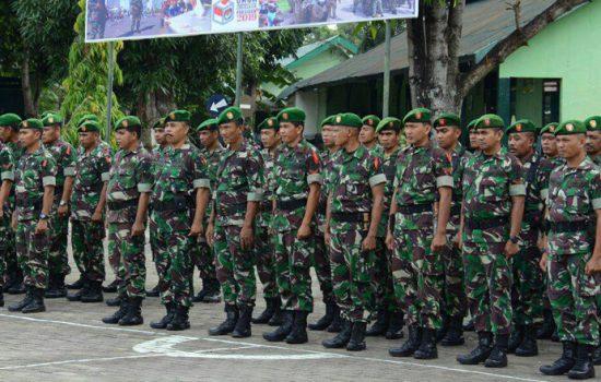 Antisipasi Kerawanan Konflik, Korem 141/Tp Gelar Latihan PAM Pemilu