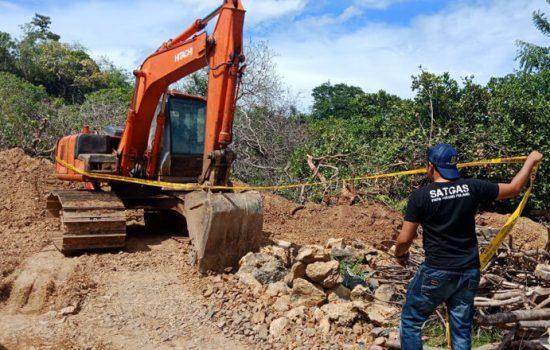 Gerebek 2 Tambang Ilegal, Polisi Amankan Ekskavator dan Truk