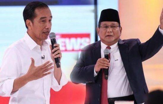 Survey Pemilu 2019 : Jokowi – Ma'aruf Amin Unggul