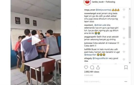 Miris, Siswa SMP di Jakut Bully Ibu Guru di Dalam Kelas