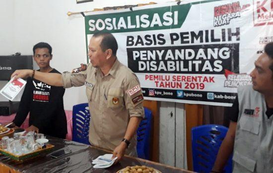 Edukasi Para Pemilih Lansia, Ini yang Dilakukan KPU Bone