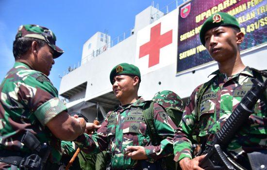 Ini Pesan Mayjen TNI Surawahadi Saat Lepas Prajurit ke Papua