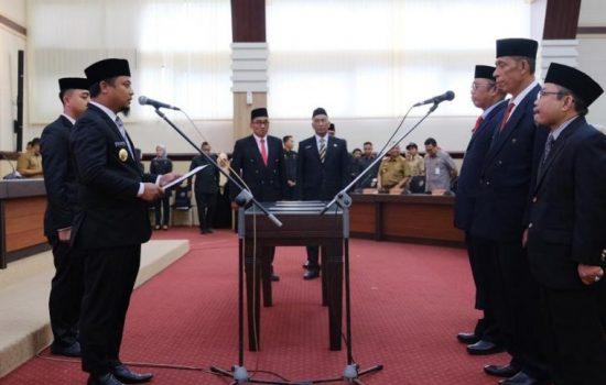 Tiga Pejabat Baru Pemprov Sulsel Dilantik Wagub