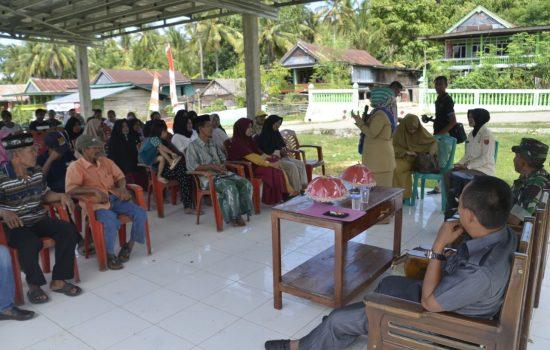 Kodim 1407 Bone Gandeng DP2KB Sosialisasi di Lokasi TMMD