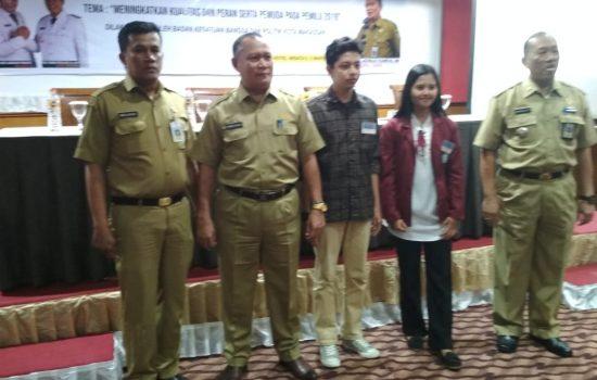 Badan Kesbangpol Makassar Bekali Pemuda dengan Pendidikan Politik