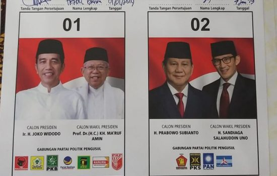 Surat Suara Pilpres Belum Tiba di KPU Makassar dan Gowa