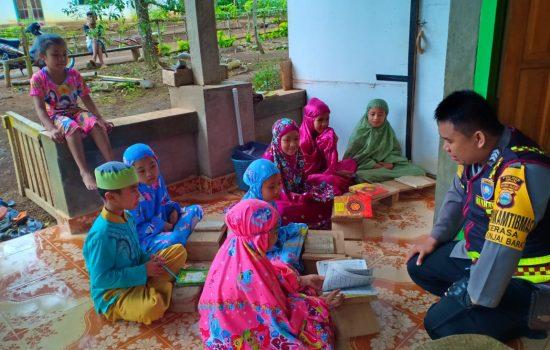 Ajarkan Baca Al-quran di Pedesaan, Ini Harapan Brigadir Ilham Nur