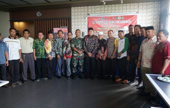 Hadiri Coffee Morning Jelang Pemilu Bupati : Pemerintah Daerah Netral untuk Para Peserta Pemilu