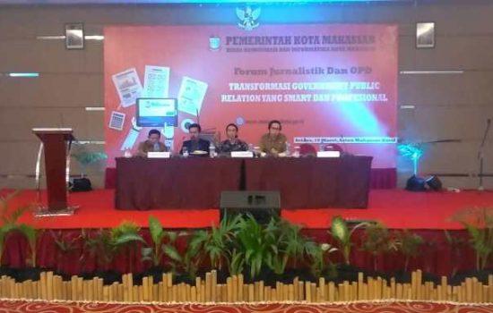 Bahas Humas 4.0, Diskominfo Makassar Hadirkan Dua Pemerhati Media