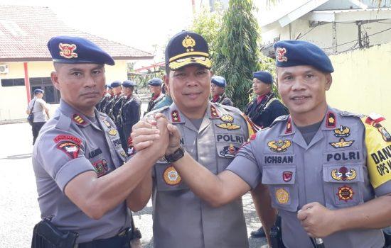 Jelang Pemilu 2019 Begini Harapan Kapolda Kepada Yon C Pelopor