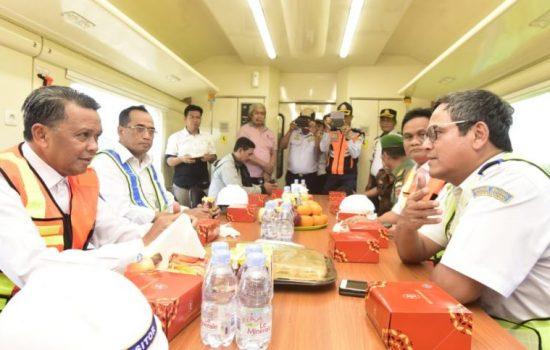 Gubernur Sulsel : Kereta Api Makassar-Parepare Beroperasi 2020