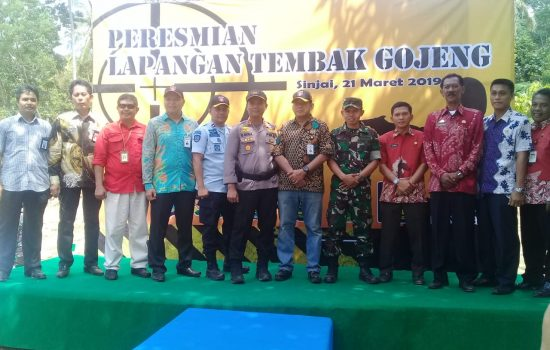 Peresmian Lapangan Tembak Gojeng, Sejumlah Pimpinan Instansi dan Forkopimda Sinjai Ikut Latihan