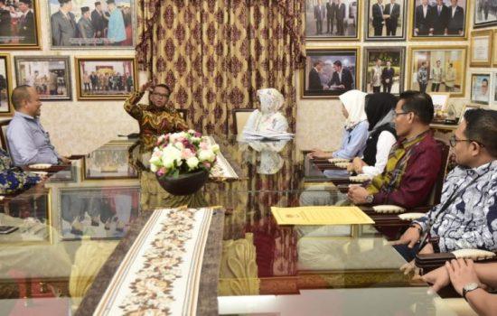 Temui Gubernur, KPU Sulsel Minta Dana Cadangan Rp 32 Miliar ke Pemprov