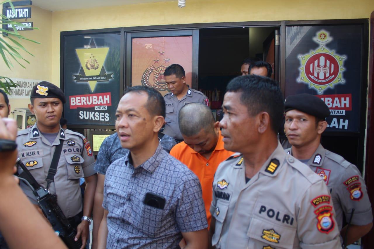 Polres Gowa Bawa Pelaku Pembunuhan Karyawati UNM ke