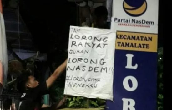 Warganya Kritik Lorong Nasdem, Begini Kata Wali Kota Makassar
