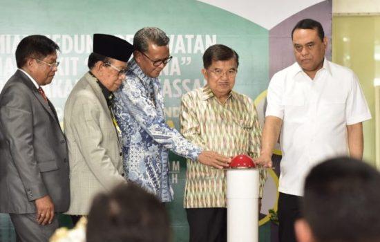Wapres JK Resmikan Gedung Baru RS Ibnu Sina UMI Makassar