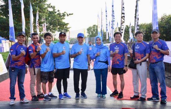 Sekda Gowa Lepas Peserta Galesong Trail Run 2019