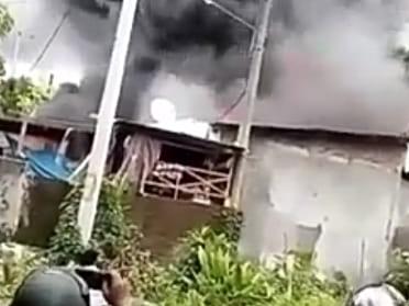 Rumah Pelaku Penikaman di Barombong Makassar Dibakar Keluarga Korban