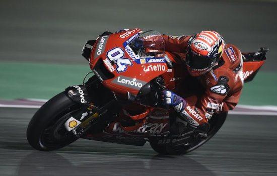 Andrea Dovizioso Juarai MotoGP Qatar, Rossi Finis di Posisi 5