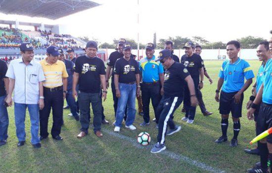 Sore Ini, Bupati Bone Buka Turnamen Sepakbola AFP Cup III