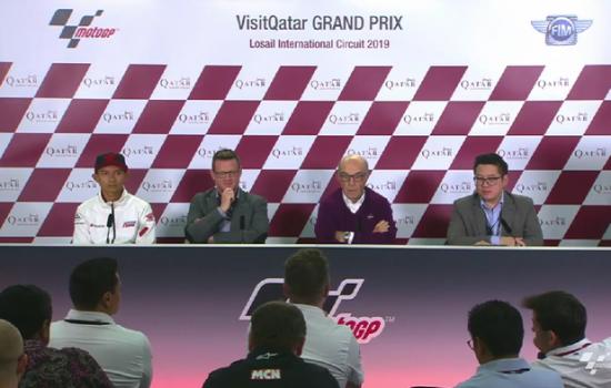 Dorna Sport Presentasikan MotoGP Indonesia di Qatar