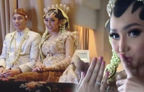 Heboh, Lucinta Luna Resmi Menikah dengan Lelaki Tampan