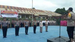 Di HUT Bhayangkara ke 37  Puluhan Personil Polres Bone Naik Pangkat