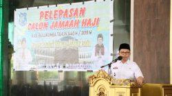 Wabup Lepas Jamaah Calon Haji Bulukumba 2019