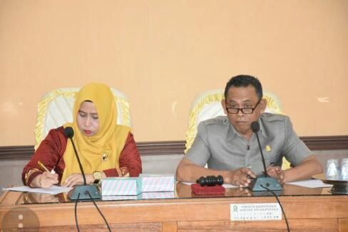 Bahas Draf Ranperda Perpustakaan dan Pustakawan, Komisi I DPRD Sinjai akan Lakukan Study Banding