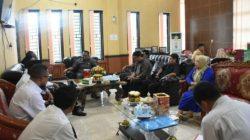 Bahas Penyaluran Zakat ASN di Sinjai, Baznas dan Komisi I DPRD Lakukan Audiens