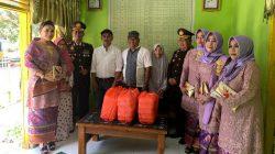 Usai Hadiri Upacara Hari Bhayangkara Ke 73, Kapolres Sinjai Kunjungi Panti Asuhan