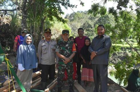 Kunjungi Lokasi TMMD, Ini Harapan Ketua DPRD Sinjai