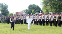 Irup di HUT Bhayangkara ke-73, Bupati Fahsar Bacakan Amanat Presiden