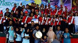 Juara Umum di PMC 3, Drum Band Asal Bone Ini Boyong Piala Berlapis Emas