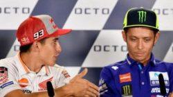 Valentino Rossi Akan Pensiun? Ini Komentar Marquez