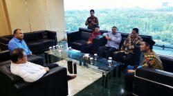 Bupati dan Ketua DPRD Sinjai Temui Menkominfo, Ini yang Dibahas