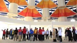 JK Lihat Lebih Dekat Masjid Rancangan Gubernur Jawa Barat di Makassar