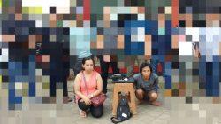 Apes, Hendak Jual Laptop Curian, Perempuan Pencuri Dicokok Duluan