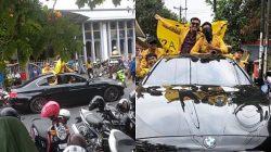 Viral, Mahasiswa Tajir Demo Pakai BMW ini Jadi Sorotan