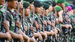 Pasukan Kodam Hasanuddin Menyebar Jelang Pelantikan Presiden, Segini Jumlahnya