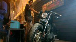 Wow, Harley Davidson Rp300 Juta Dicorat-coret di Palopo