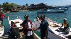 Hore, Bank Indonesia Bagi-bagi Perahu Di Sinjai