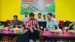 Lantik Pengurus PBSI Bone, Bupati Fahsar: Bangkitkan Semangat di Kecamatan